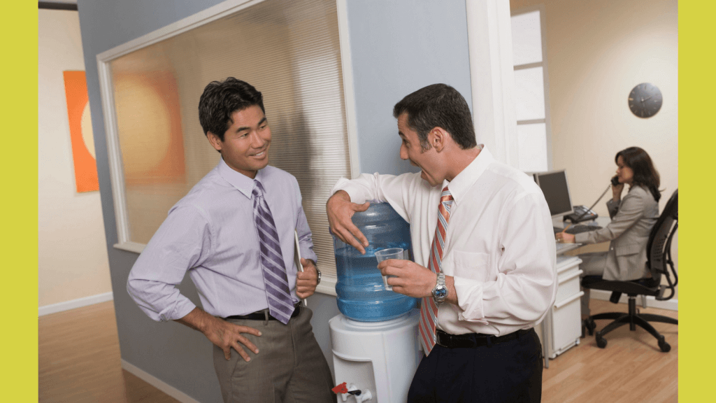 Water Cooler Talk That is Just Plain Cold