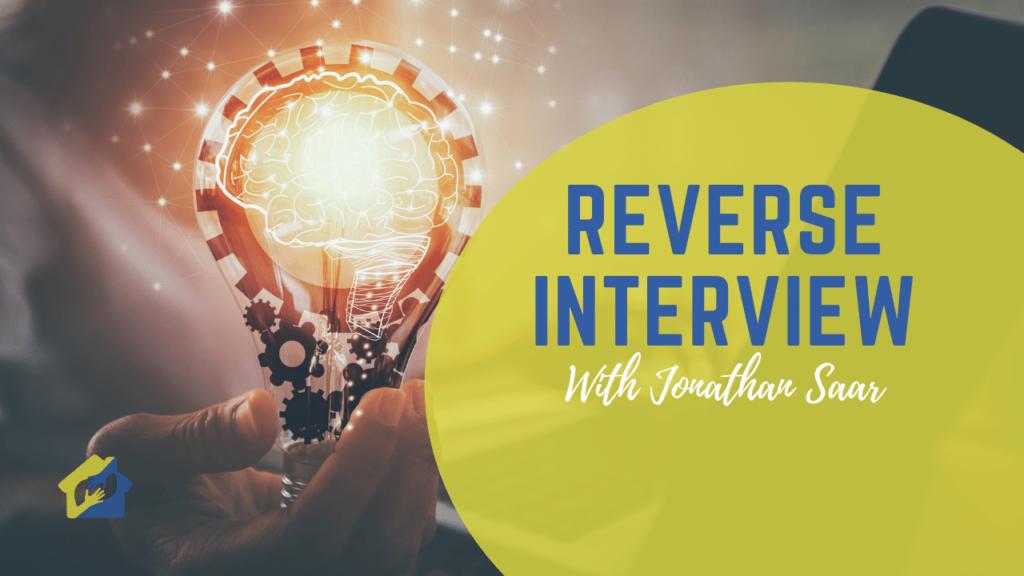 Reverse Interview with Jonathan Saar